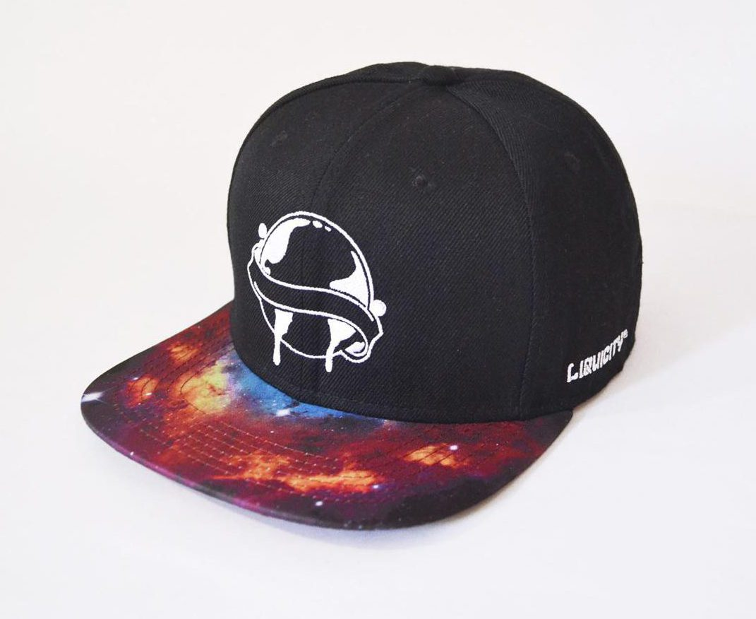 Snapback Galaxy Red — Liquicity Store